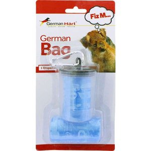 Dispenser GermanHart GermanBag Transparente com Refil Azul