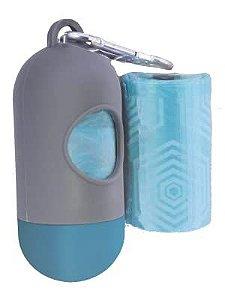 Dispenser GermanHart GermanBag Cinza com Refil Azul