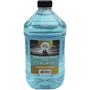 Eliminador de Odores Petmais Splash Ocean 2 Litros