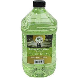 Eliminador de Odores Petmais Splash Tropical 2 Litros