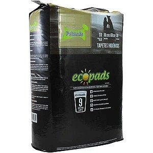 Tapete Higiênico Ecopads para Cães com Atrativo Canino 80 x 60 - 30 Folhas