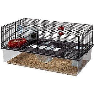 Ferplast Hamster Gaiola Cage Topy Black