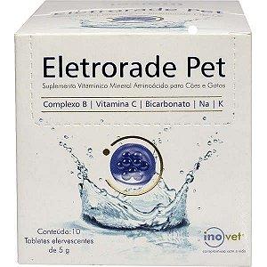 Suplemento Vitamínico Mineral Aminoácido Inovet Eletrorade Pet para Cães e Gatos