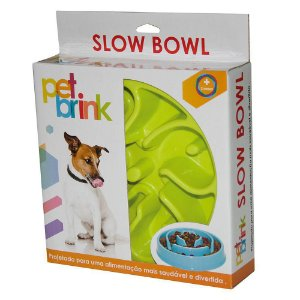 Comedouro Slow Ball Flor