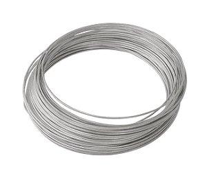 Arame Galvanizado - Fio BWG 14 (2,11mm) / 1kg (37mt)