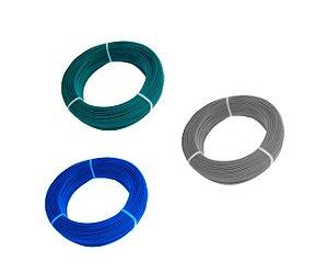 Arame Com Revestimento em PVC Verde - Fio BWG 16 (2,30mm) / 1kg (45m)