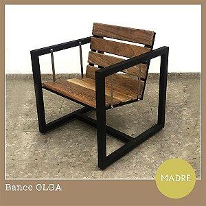 Banco Olga (Preto)