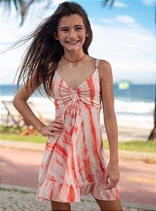 Vestido Tie Dye Coral