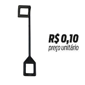 Pino Interligador Quadrado Preto pacote c/ 500pçs