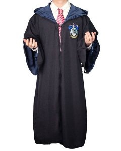 Capa Manto Harry Potter Corvinal Cosplay