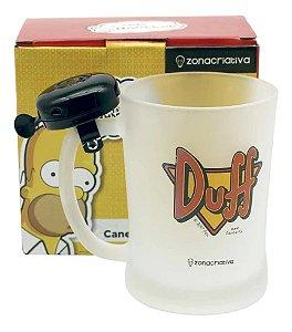 Caneca Com Campainha Duff Simpsons 650 Ml