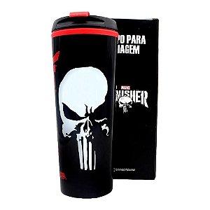 Copo Viagem Punisher Justiceiro Marvel