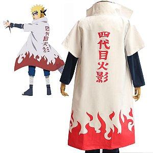 Capa Minato Hokage Naruto Cosplay