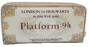 Carteira Porta Cédulas Harry Potter London to Hogwarts