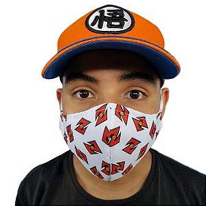 Máscara de Tecido Lavável Dragon Ball Z
