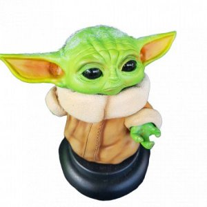 Action Figures Baby Yoda Star Wars Resina - The Mandalorian