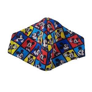 Máscara de Tecido Lavável Mickey