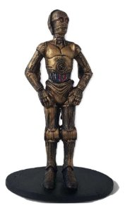 Action Figure C3PO Resina - Star Wars - 16 cm