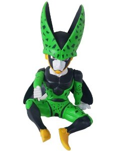 Action Figure Cell Sentado - Dragon Ball Z
