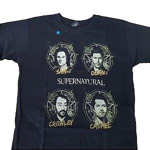 Camiseta Supernatural Preta