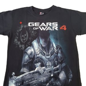 Camiseta Game Gears Of War 4