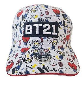 Boné BTS BT21 Aba Curva