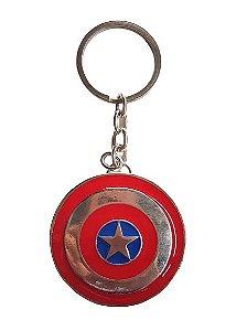 Chaveiro Escudo Capitão América - Vingadores