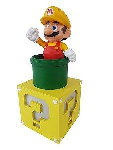 Luminária Abajur Super Mario Maker