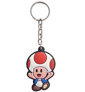 Chaveiro Super Mario Toad