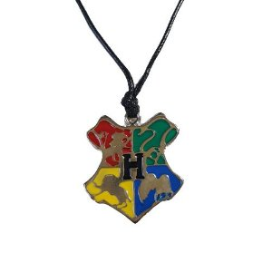 Colar Harry Potter Hogwarts Grande