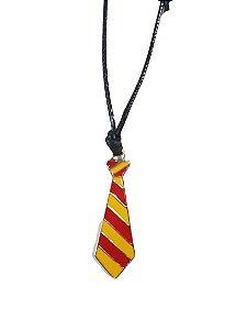 Colar Harry Potter Gravata Grifinória