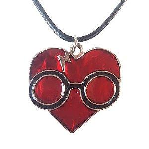 Colar Harry Potter Coração