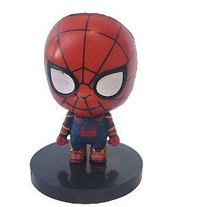 Mini Nendoroid Homem Aranha Vingadores