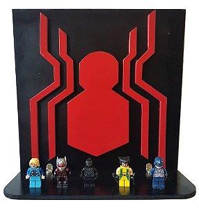 Prateleira Decorativa 3D Homem Aranha Vingadores MDF