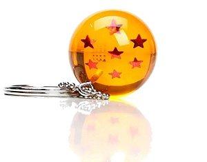 Chaveiro Esfera do Dragão Dragon Ball 7 estrelas 3D