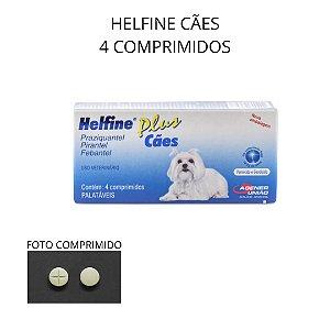 HELFINE CÃES PLUS 4 COMP. PALATÁVEIS GIARDICIDA AGENER