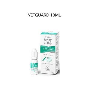 Lubrificante Oftalmico Soft Care Vetguar 10 Ml Caes E Gatos
