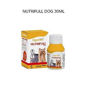 Suplemento Vitamínico Organnact Nutrifull Dog 30ml