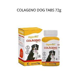 Suplemento Vitamínico Organnact Colágeno Dog Tabs 72g