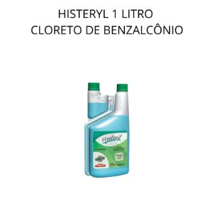 HYSTERIL AGENER 1 LITRO CLORETO DE BENZALCÔNIO