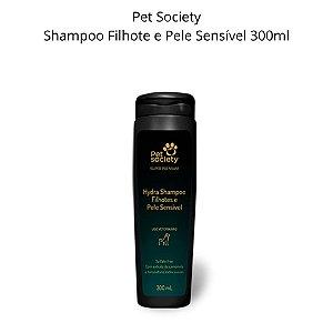 Shampoo PetSociety Filhotes Pele Sensível SuperPremium 300ml