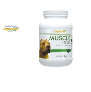 Muscle Dog 1 kg Suplemento Vitaminico ind. p/ Cães Adultos
