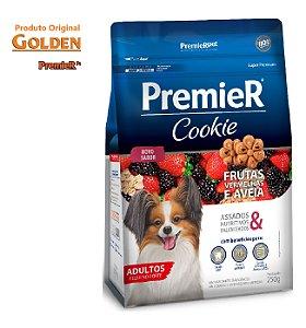 Cookie Premier Cães AD RC Pequenas Frutas Vermelhas 250gr