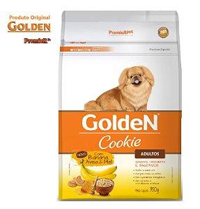 Cookie Golden Cães AD RC Pequenas Banana Aveia e Mel 350gr