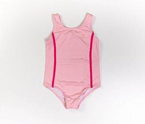 Maiô Infantil Malha Proteção Cor Rosa claro