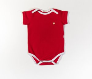 Body bebê Cotton Cor Vermelho