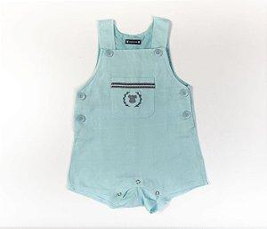 Francês Bebê Linho Verde