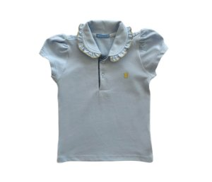 Blusa Infantil cheia de estilo cor azul