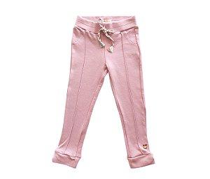 Calça legging cor rosa mais conforto e estilo