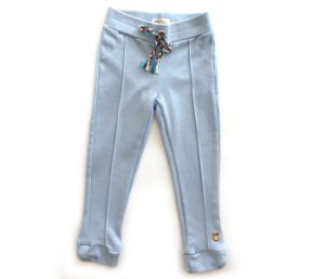 Calça legging cor azul mais conforto e estilo